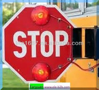cheap school bus stop arm sign for usa and canada manufacturer buy