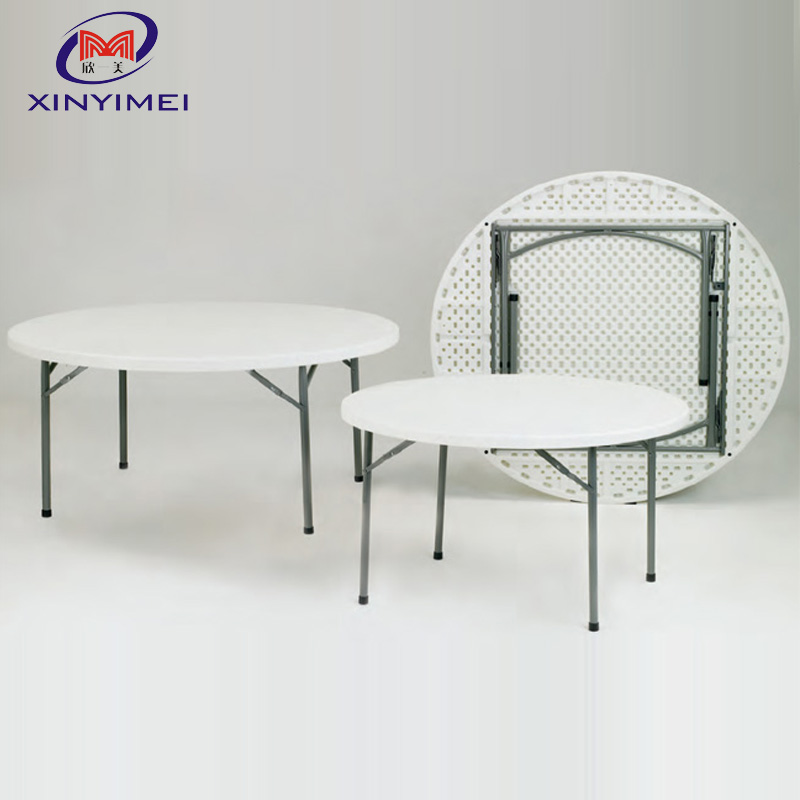 Hot sale outdoor <strong>folding</strong> 8 seat plastic table