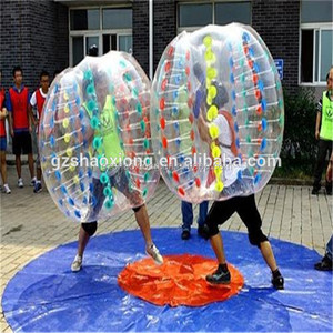 Outdoor Activity Diameter 1.2m Soccer Buddy Belly Bumper Ball Arena Human Bubble Ball For Kids With Good Prices