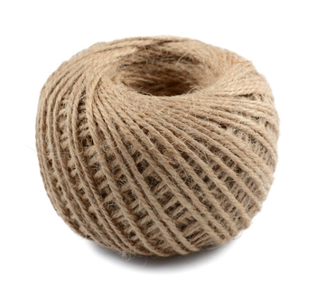 2mm Twisted Craft Rope Natural Jute String Twine Hemp Linen Cord