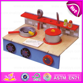 2015 New Arrival Kid Wooden Kitchen Toy Set,Children DIY Kitchen Play And  Learn Toy
