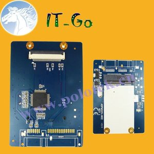 Factory direct supply ZIF / LIF to mSATA Adapter CE to mini SATA converter card
