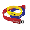 portable design USB flash drive silicone bracelet USB Flash Drive