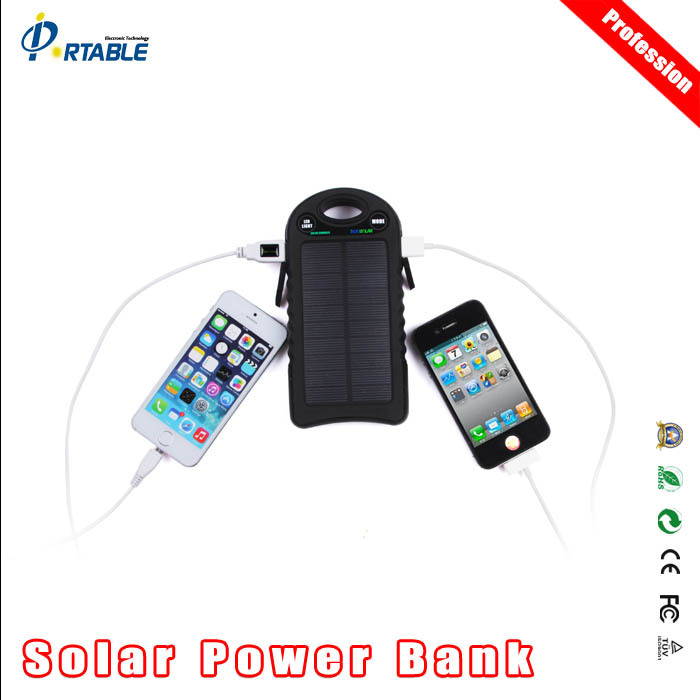 private label 10000mah solar charger hat with top quality