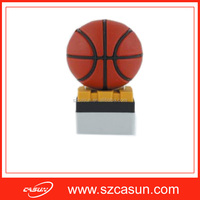 Custom basketball shaped PVC USB