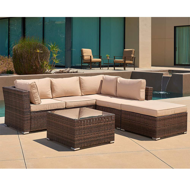 All Weather pool lounge synthetic rattan hd Designs aluminum Outdoor Furniture