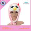 2013 New Style Cartoon Animal Hat White Chicken Cute Fluffy Plush Winter Warm Hat Cap For Cosplay Party