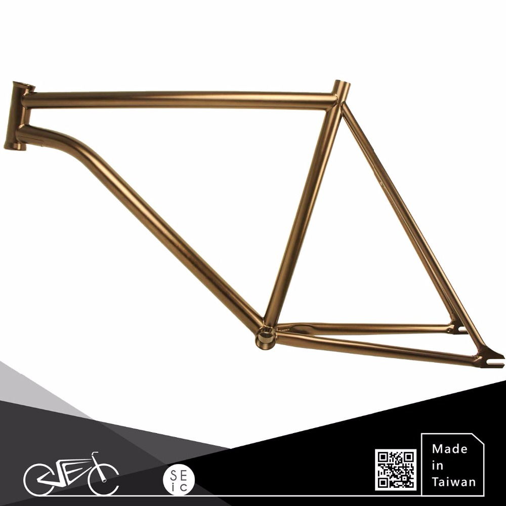 Taiwan 700C Fixie Custom Track Bicycle Steel Bike Frame For City Bicycle And Road Bicycle