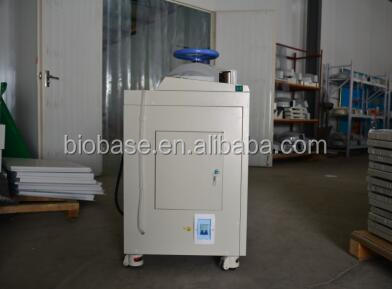 Biobase China CE ISO Hand wheel type vertical 30L/50L/75L autoclave manufacturers