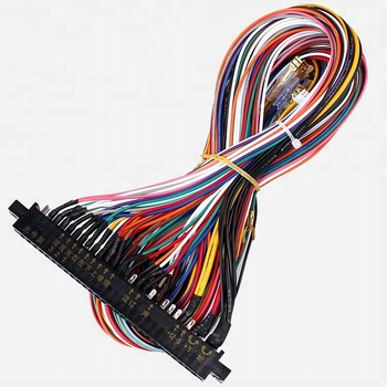 56 Pin Pcb Wiring Harness For Arcade Machine Game Console Jamma - Buy Jamma Harness Wiring Guide on