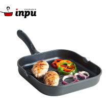 Healthy Nonstick Square Cast Aluminum Frying Pan For Induction Cooking