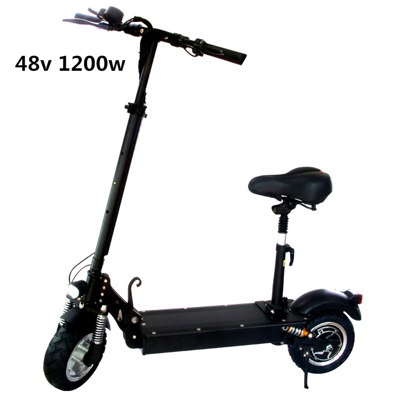 2018 electric scooter 1000w with seat for adults Foldable Scooter electric scooter adult