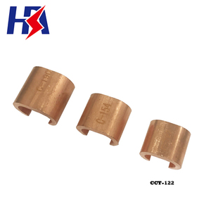CCT-122 Earth C Clamp 99.9% Copper Pipe Clamp Fitting Cable Clamp