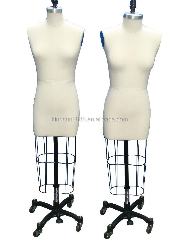 Female Mannequin Dress Form Adjustable Tailoring Dress Form Dress ...