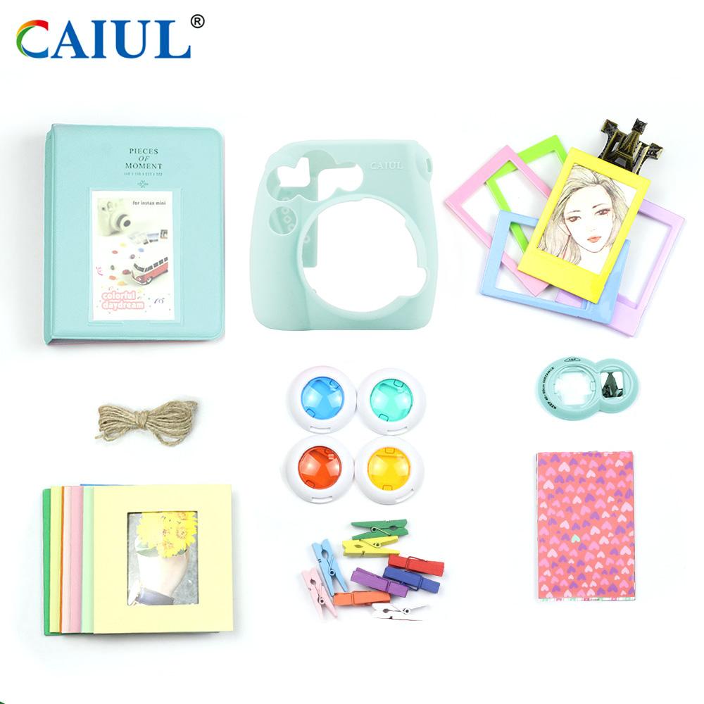 Caiul New Arrival Fujifilm Instax Mini 8 / Mini 9 Instant Camera Accessories Bundle фото