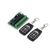 4 channel universal remote control switch, 12 volt remote control on off switch with relay