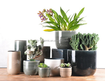 Wholesale popular indoor and outdoor decoration ceramic round shape crackle glazed flower pot  sc 1 th 197 & Wholesale Popular Indoor And Outdoor Decoration Ceramic Round Shape ...