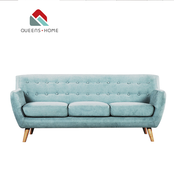 Queenshome Modern Blue Velvet Couch 3-seater Chair 3 Arena Seating Plan  Italian Apartment Furniture Fabric Sofa For Sale Sofa - Buy Italian Fabric  ...