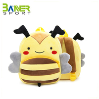 Wholesale OEM boy girl plush backpack kids school bag toddler snack bag daily use