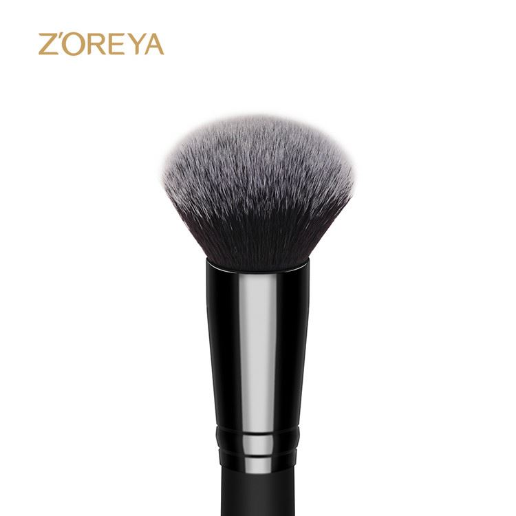Professional Single Wood Handle Face Powder Foundation Makeup Brush