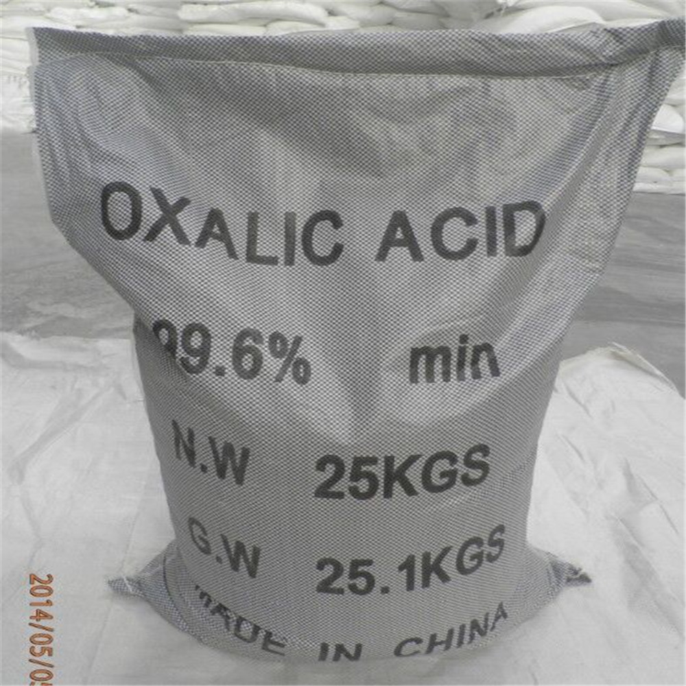 China factory price oxalic acid 99.6% industrial grade CAS 144-62-7