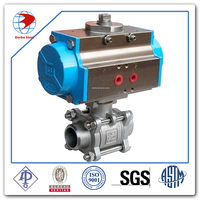 pneumatic actuated 220V DN20 Mini Motorized Ball Valve Electric