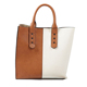 2019 Latest fashion design women bags tote no brand real leather handbags