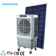 Solar air conditioner China electronic factory fixed roof mounted evaporative air cooler