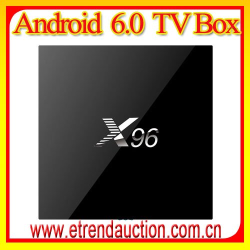 Full HD 1080p Android tv box cs 918 Iptv set top box x96 iptv smart tv box