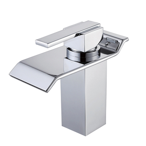 bathroom basin faucet luxury waterfall mixer faucet tap bath and basin taps