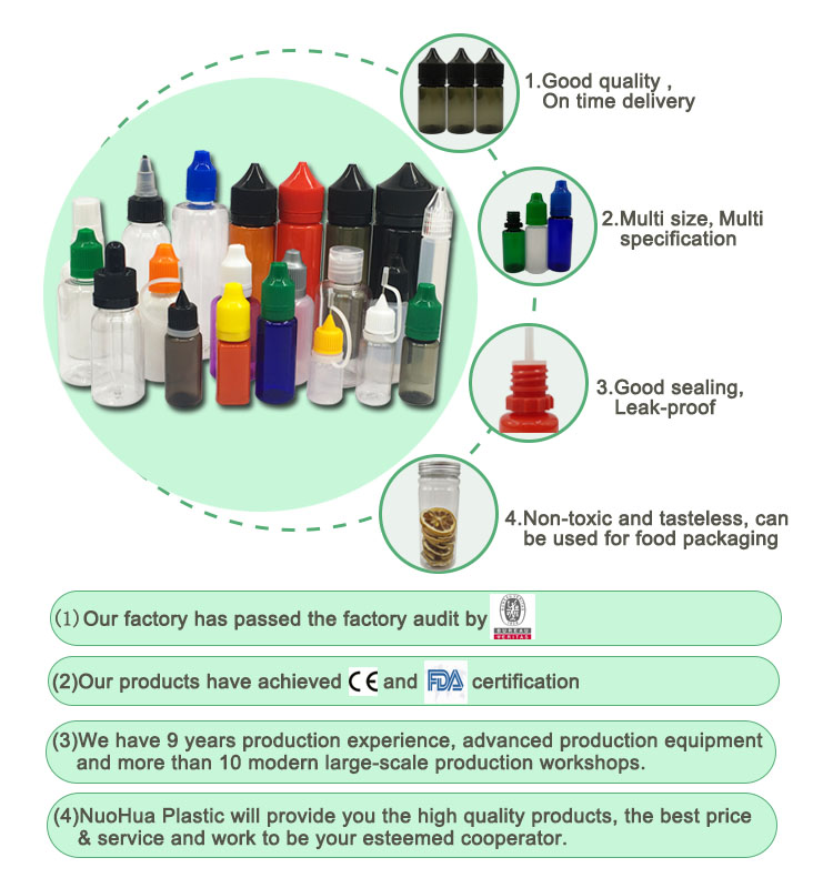 fda ce 50ml anpassen klare auslaufsichere zigarette ejuice e-liquid e juce vape öl eliquid e flüssige flaschen mit kindersicherungsverschluss