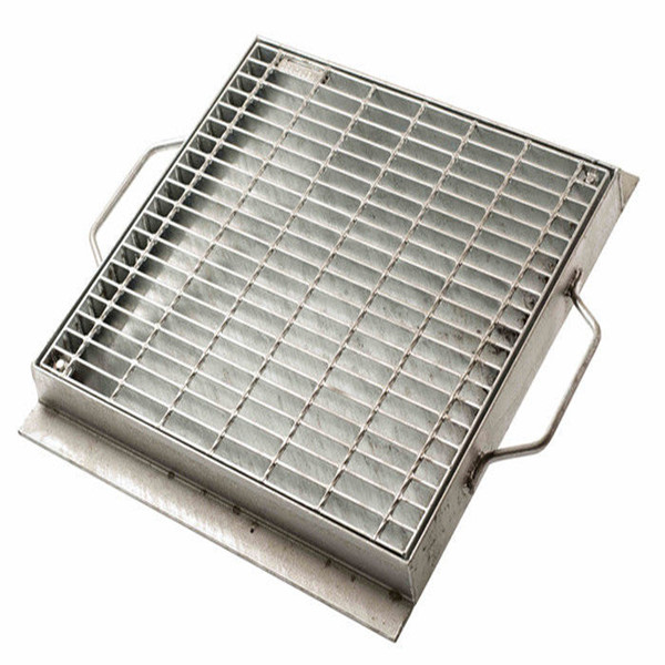 Outdoor Gi Car Wash Sidewalk Storm Drain Mesh Bar Grating Cover Plate In Malaysia With Weight Per Square Meter