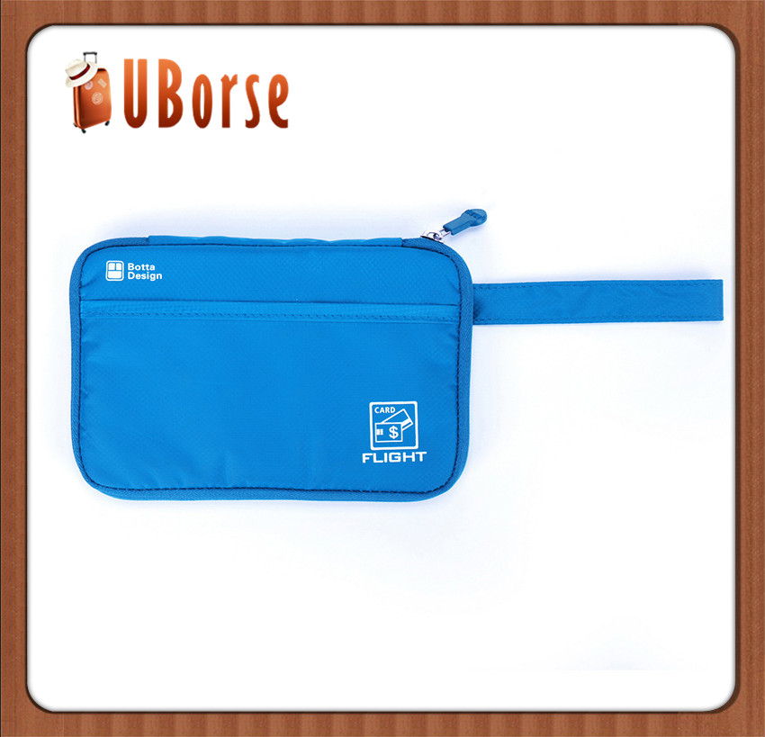 Uborse Handging Travel Korea style poly wallet credit card wallet Travel Wallet & Passport Holder
