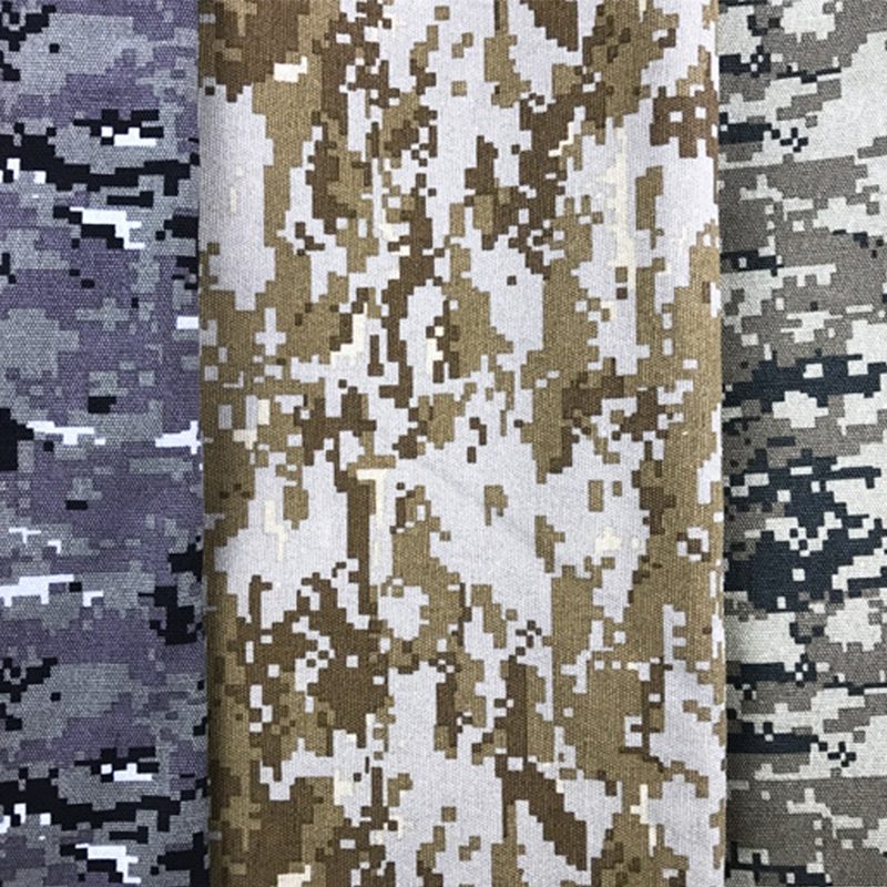TC 80/20 90/10 ripstop camouflage militaire