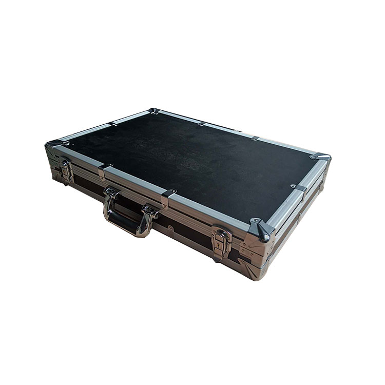 custom metal Aluminium alloy skeleton Light grey Fireproof board Hardware accessories Demo carrying Display tool flight case