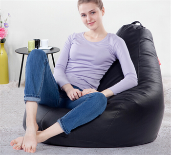 2017 Hot Sell Fashion Lazy Boy Beanbag Chair High Back Bean Bag