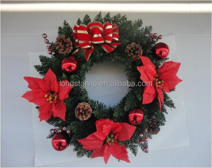 Aluminum Christmas Wreath Bulk Christmas White Berry Christmas ...