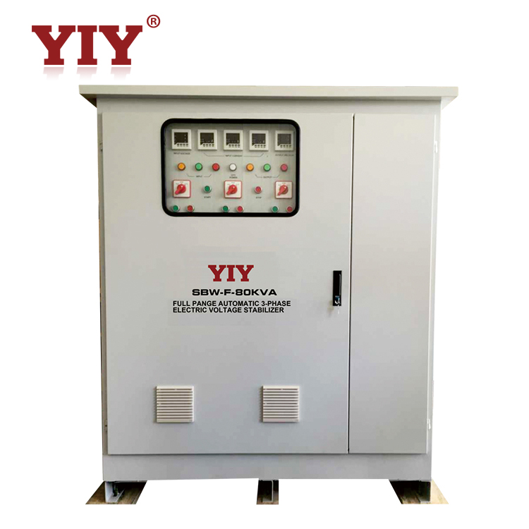 380V AC voltage Stabilizer / ac Power Supply / AVR voltage regulator 800kva