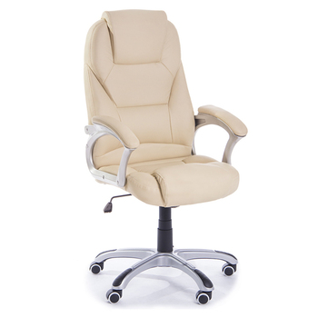 Y 2765 Guyou high quality white leather swivel office chair office furniture
