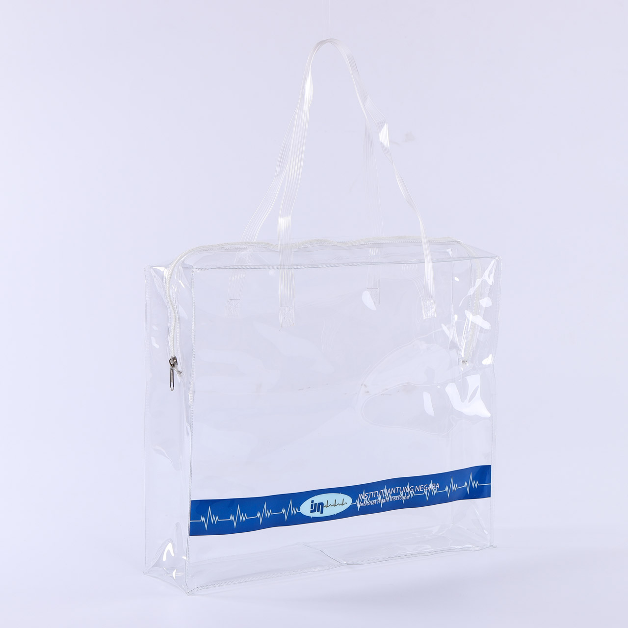 Hot selling exquisite clear cosmetic packing waterproof PVC bag