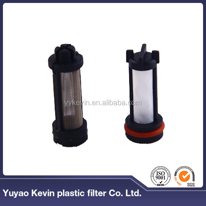 High filtration precision PA66+GF30% great material oil filter press machine parts