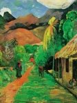 Reproductions painting---Chemin a Papeete