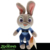 Hotsale 10 inch cartoon animation Red Fox Nick& Rabbit Judy stuffed animal plush toy