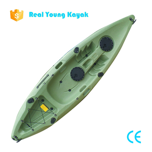 Small Fishing Boat Sit on Top Ocean Kayak Paddle Aluminum Canoe Sale
