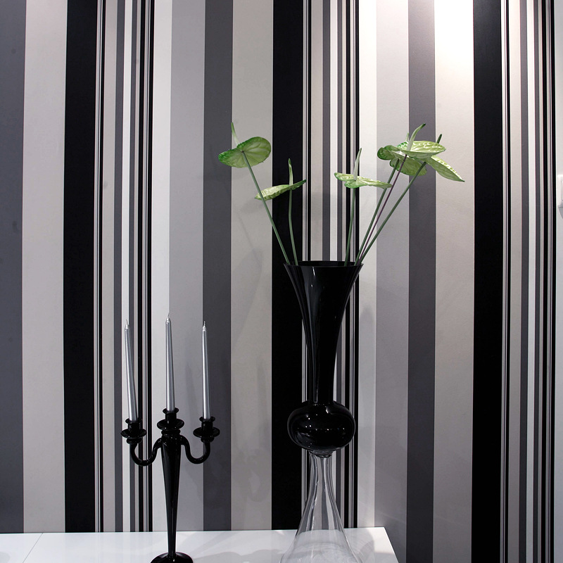 blanc rayures papier peint achetez des lots petit prix blanc rayures papier peint en. Black Bedroom Furniture Sets. Home Design Ideas