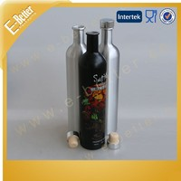750ML Empty Cork Aluminum Vodka Bottle