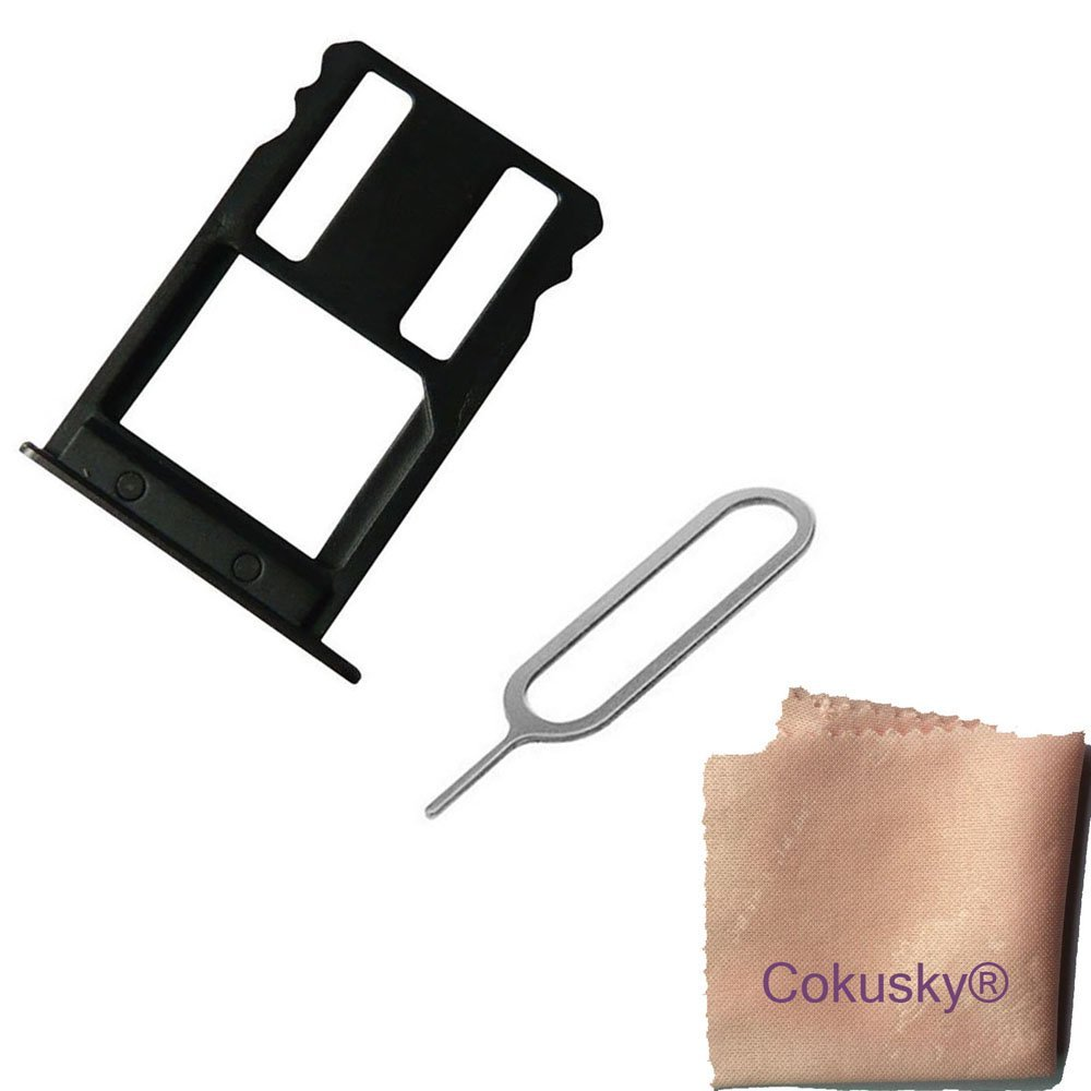 buy cokusky sim card tray cover card slots holder repair for huawei