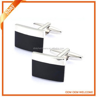Crucible Cuff Links/Stainless Steel Cuff Links/Black-plated Cuff Links