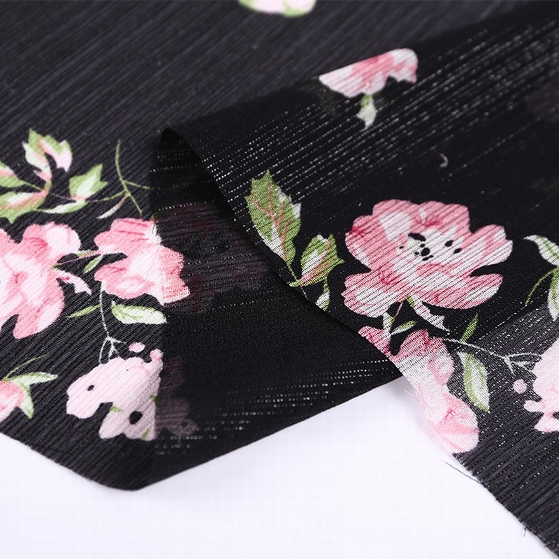 best selling most popular hs code flower print fabric <strong>polyester</strong>