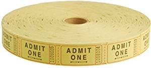 Stock Ticket-Admit 1/Yellow/2000-Rl